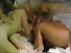 VIntage 80's bisexual orgy porn tube video