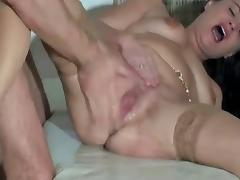 Brutal Fisting till Squirting porn tube video