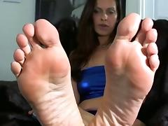 Foot goddess feet tease