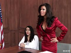 Horny Lawyer Gets Banged Hardcore Doggystyle In Miniskirt porn tube video