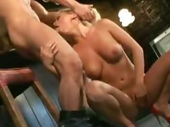 Bree Olson fucking Marco Banderas and gives him hardcore head