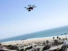 Slutty Mercedez get spotted by drone spy tube porn video