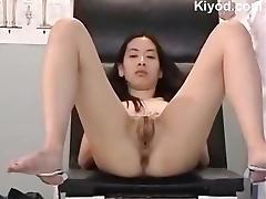 Japanese vagina check up tube porn video