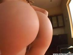 Anal whore sucking cock and getting her asshole banged hardcore