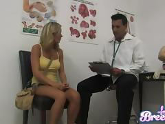 Bree Olson allows Marco Banderas finger and fuck her pussy