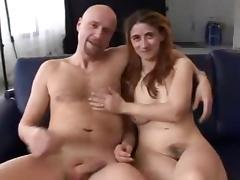 Threesome, German, Group, Hairy, Hardcore, Orgy