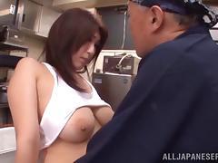 Bar, Asian, Bar, Big Tits, Blowjob, Boobs