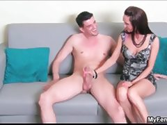 Guy gets horny taking his clothes off tube porn video