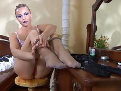 EPantyhoseLand Scene: Blanch tube porn video
