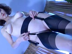LacyNylons Scene: Carrie tube porn video