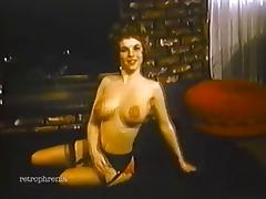 vintage striptease music video