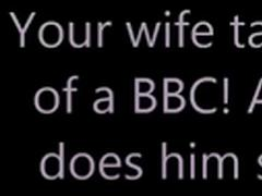 Wife takes care of a BBC!
