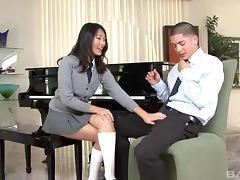 Bend Over, Asian, Babe, Couple, Doggystyle, Fucking