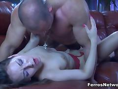 NylonScreen Video: Crystal and Claud tube porn video