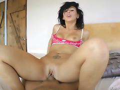 Anal chick gets banged hardcore after giving blowjob