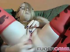 Blonde, Amateur, Anal, Assfucking, Bed, Blonde
