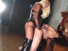 Boots, BDSM, Blonde, Boots, Femdom, Latex