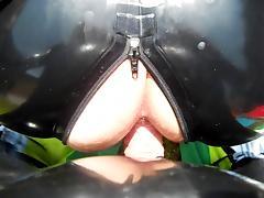 levrette en latex porn tube video