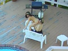Outdoor Action With Sexy Lesbians Inserting Toys And Licking Pussies