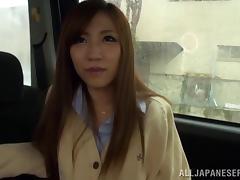 Car, Amateur, Asian, Blowjob, Bra, Car
