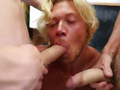 Blonde muscle surfer dude needs cash