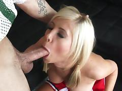 Cheerleader, Big Tits, Blonde, Cheerleader, Facial, Hardcore