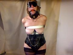 sexy wife tied to pole