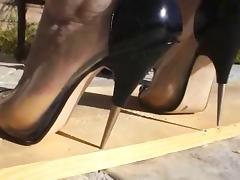Boots, Boots, Femdom, Heels, Piercing, POV