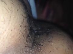 Deeper Anal Tongue Fuck for My Man & Me Squirting tube porn video