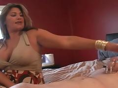 Step mom visits cuck after her date tube porn video