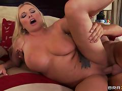 Curvaceous milf Briana Banks plays a naughty cheating wife porn tube video