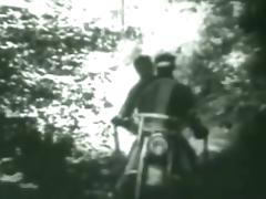 Gay Vintage 50's - The Cyclist