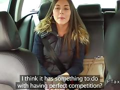 Beautiful Czech babe banged in fake taxi porn tube video