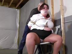 Bound, BBW, BDSM, Bondage, Bound, Tight