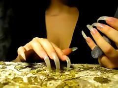 Long Nails, Fingering, Long Nails