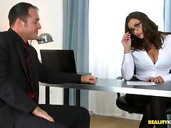 Office, Couple, Fucking, Glasses, Hardcore, Office