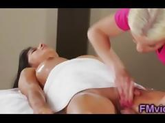 Britney Amber and Megan Salinas massage tube porn video