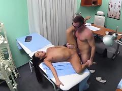 FakeHospital Young doctor rises to the big occasion porn tube video