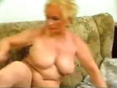 Old Granny fucked hard and deep by young man
