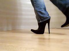 Boots, Amateur, Boots, Heels, Latex, Masturbation