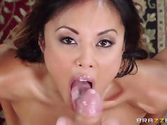 With that kind of a deepthroat am sure she loves to swallow cum