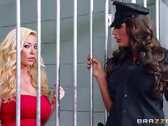 Jail bird and the guard get fucked by a visiting friend tube porn video
