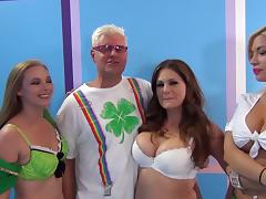 Hot bimbos are into groupsex,you will enjoy this tape