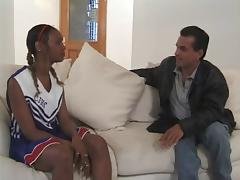 Ebony Anal Cheerleader