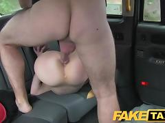 FakeTaxi Infamous taxi driver gets recognised porn tube video