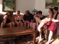 German Old and Young, 18 19 Teens, Amateur, German, Group, Orgy