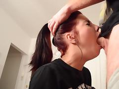 18 19 Teens, 18 19 Teens, Blowjob, Couple, Deepthroat, Fucking