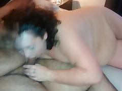 Dumb Whore Cunt sucks a fatty dick
