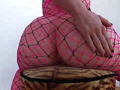 Anal chick with hot ass gets fucked in fishnet and creamed