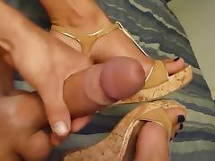 Shemale Cock and Sexy Feet No 2